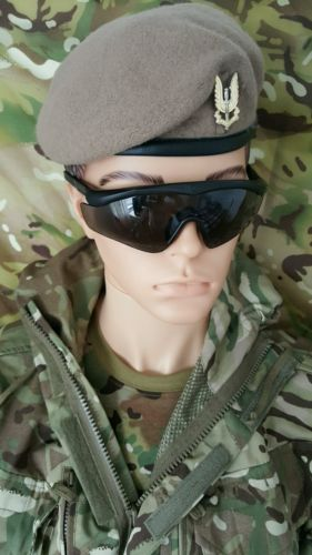 fa8d1a70e24 British Army Issue Revision Sawfly Ballistic Eye Wear Grade 1 Condition.